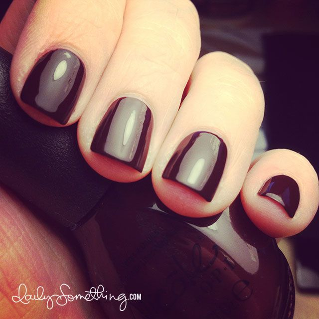 Nicole by OPI Hard Kourt Fashionista - Also tips on growing out your nail bed