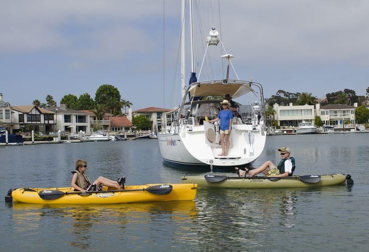 Hobie Mirage Revolutions in Newport Beach