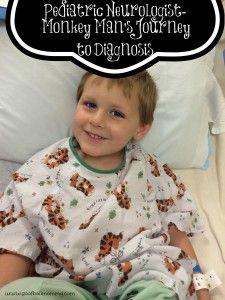 pediatric neurologist- our journey to a diagnosis. Toddler Hospital Neurology