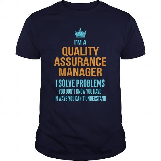 Quality Assurance Manager (QA Manager) - #shirtless #navy sweatshirt. SIMILAR ITEMS => https://www.sunfrog.com/LifeStyle/Quality-Assurance-Manager-QA-Manager-Navy-Blue-Guys.html?60505