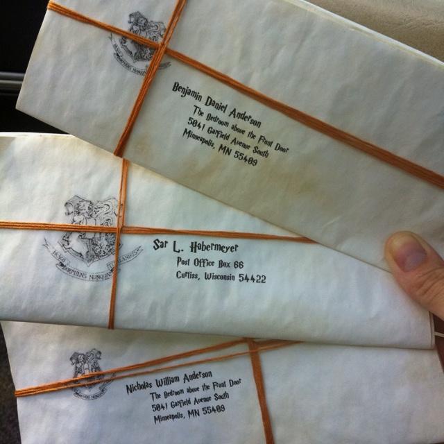 325 best Harry Potter images on Pinterest Harry potter stuff - hogwarts acceptance letter