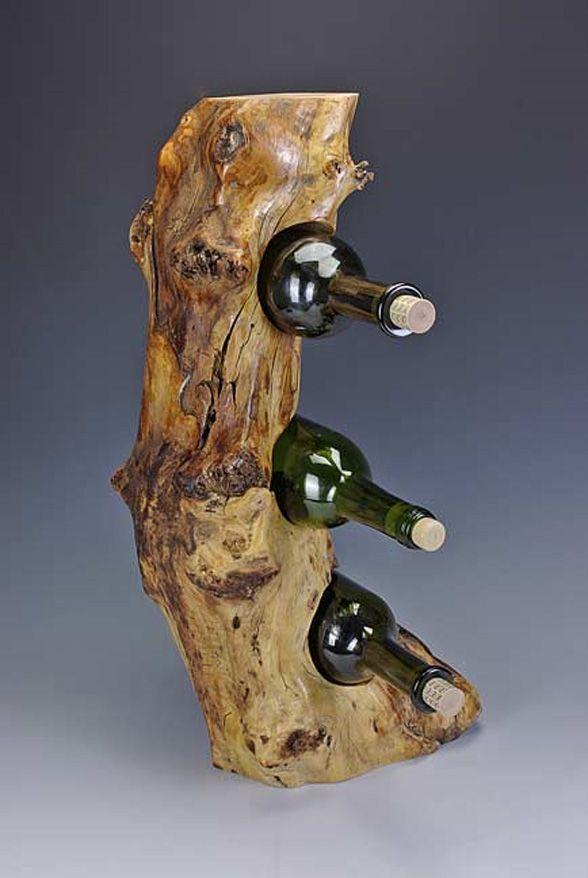 wine racks   Back Woods Art takes wine racks to a new level. Each wine rack is hand ...