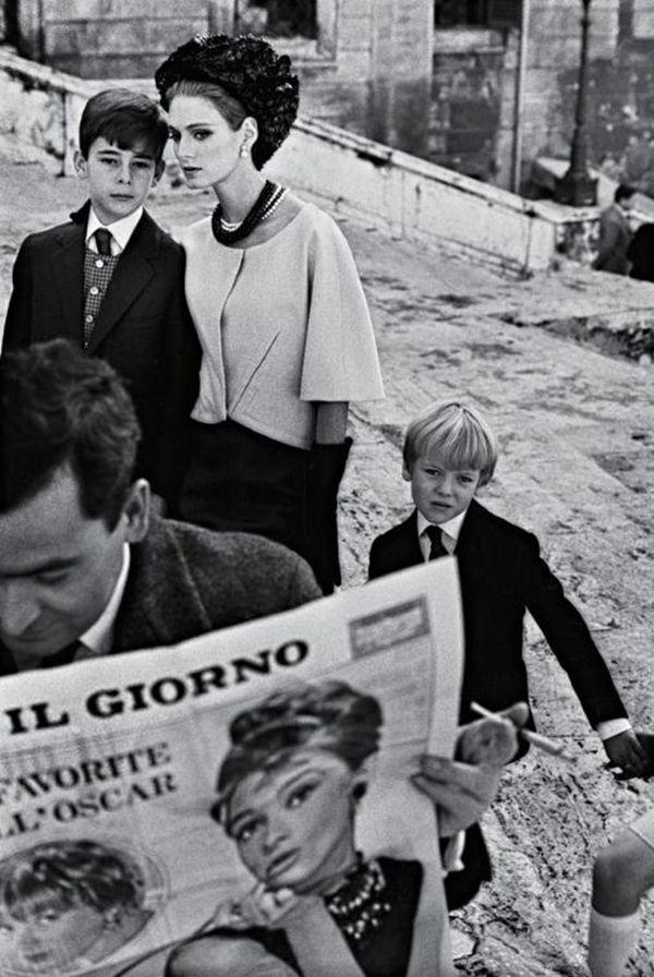 ImpressioniFotografiche - Frank Horvat for Harper's Bazaar; Rome, 1962