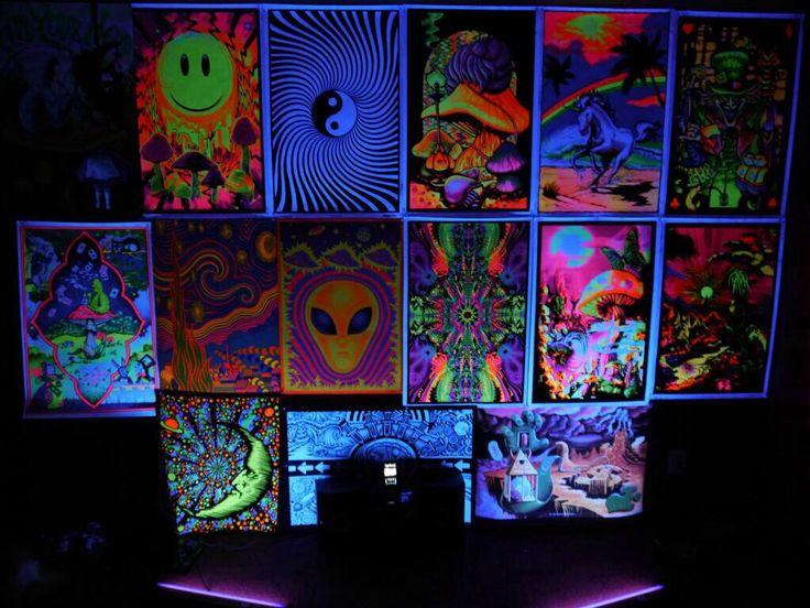 Black Light Bedroom Need Hippie Bedroom Decor Black