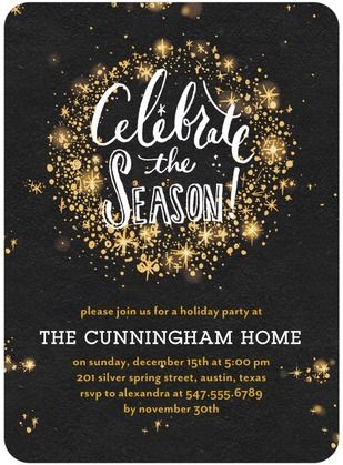 17 Best ideas about Holiday Invitations on Pinterest | Holiday ...