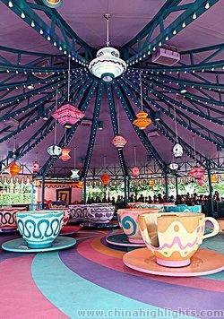 Hong Kong Disneyland on Lantau Island