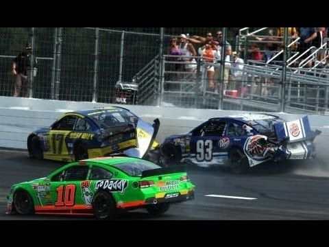 ▶ NASCAR Extended Highlights | Camping World RV Sales 301, New Hampshire - YouTube