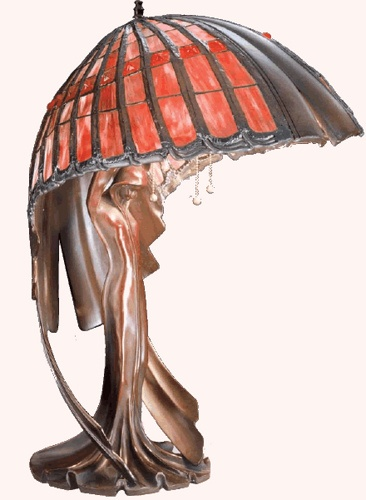 Classic lamp of Art Nouveau