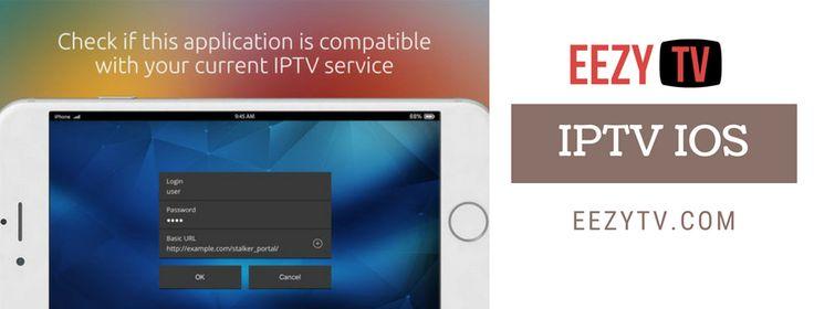 Use the iptv iOS app of