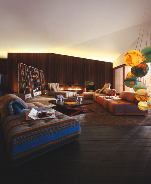 145 best Divani images on Pinterest | Armchairs, Living room and ...