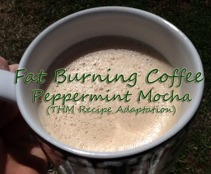 Fat Burning Coffee! (Trim Healthy Mama Recipe Adaptation)