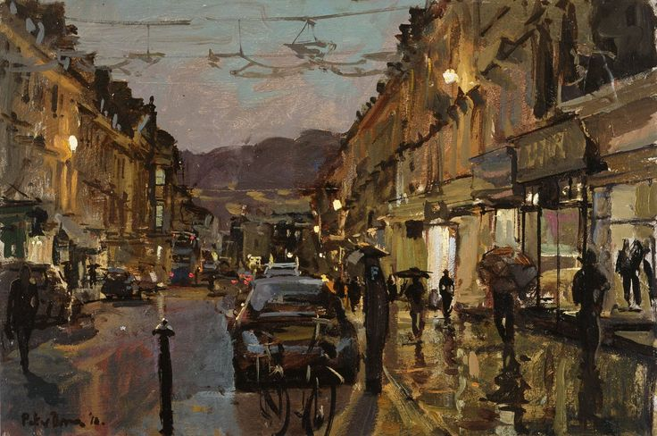 Peter Brown - Early Evening, Milsom Street, November 2010