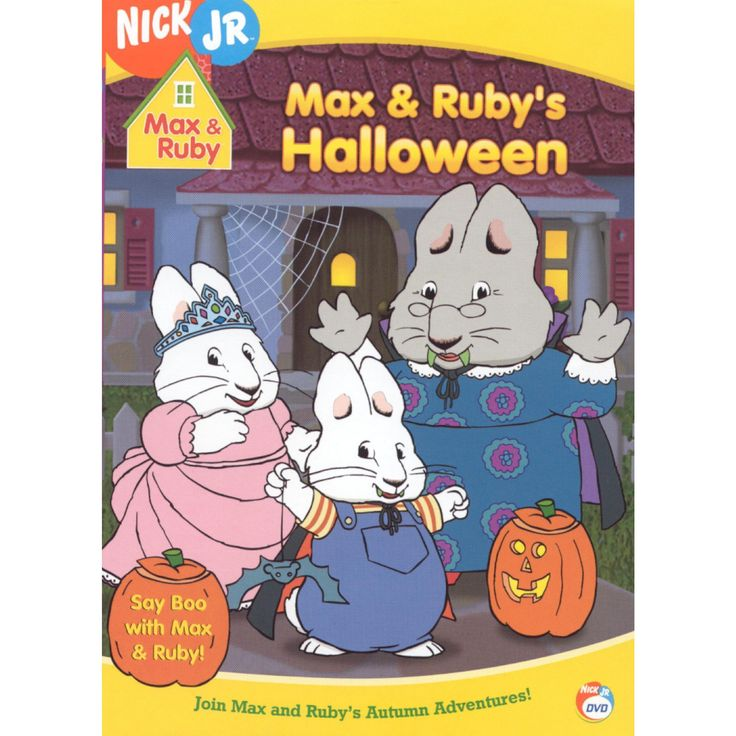 Max & Ruby: Max & Ruby's Halloween (dvd_video)