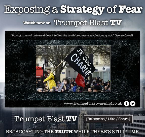"""I hope the information contained in this video will unlock minds and bring some clarity to what's going on in our world today.  Watch this video presentation of Chapter Four from Trumpet Blast Warning to find out....""""  https://www.youtube.com/watch?v=yrh0kYz21zs"""