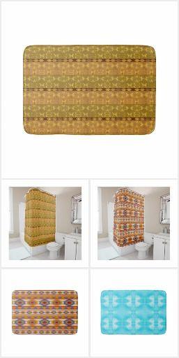 for bathroom #ethnic #pattern #design