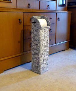 Gerry Creations  Colonna porta rotoli e distributore di carta igienica