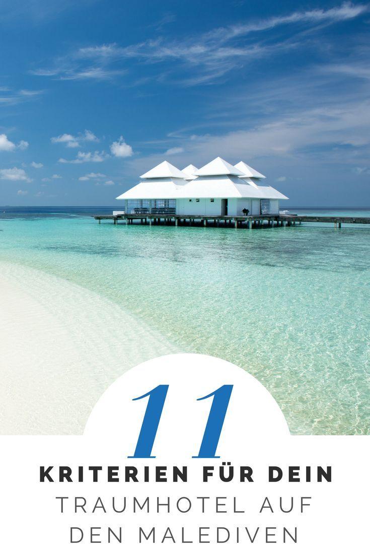 11 Kritierien für euer Traumhotel auf den Malediven