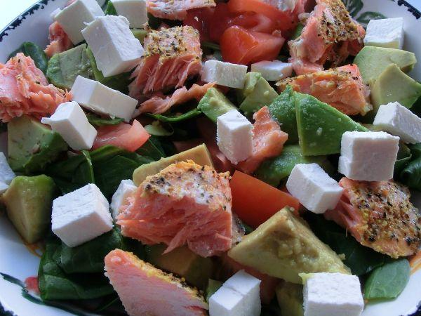 Ørret-salat (heartwise)