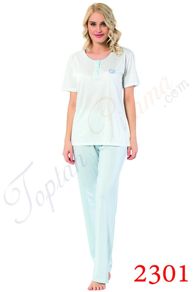 Toptan Bayan Pijama Takimi 2301ky Pijama Giyim Gecelikler