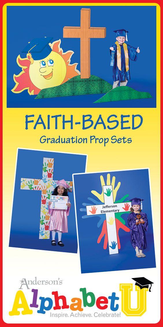 Faith Graduation Prop Sets - Preschool and Kindergarten Graduation