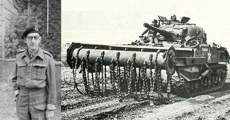 Percy Hobart - Wizard of WW2 Armored Tank Warfare - https://www.warhistoryonline.com/military-vehicle-news/percy-hobart-wizard-ww2-armored-tank-warfare.html