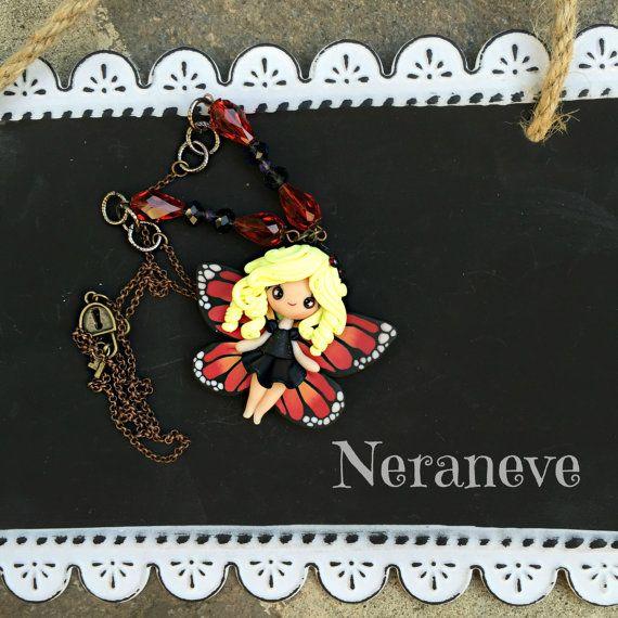 Farfallina Monarca di NeraneveStella su Etsy
