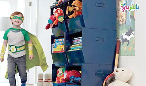 أفكار مبتكرة لترتيب الألعاب في غرف الأطفال 2020 بأقل تكلفة