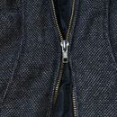 This is a easy way to fix a zipper without replace it. Is really fast too. It work when the zipper pull can't close the zipper together anymore. I don't ...