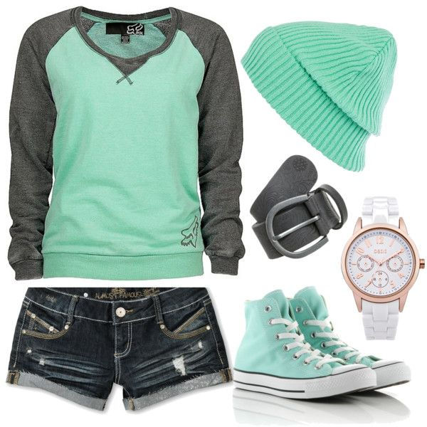 """super comfy casual"" by deedee22371 on Polyvore>>>>>>>just the shirt and shorts"