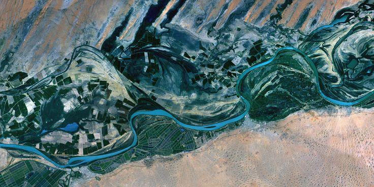 Senegal River, Mauritania and Senegal