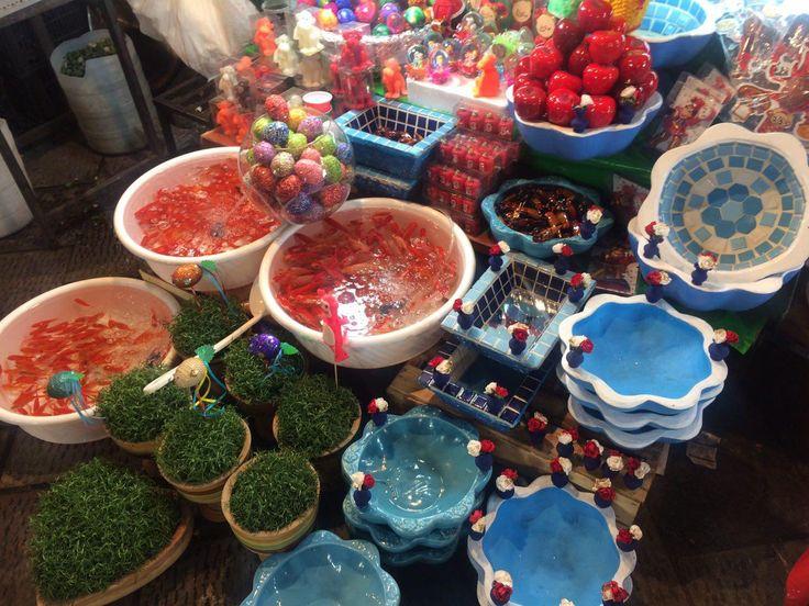 New year's bazaar in Tehran