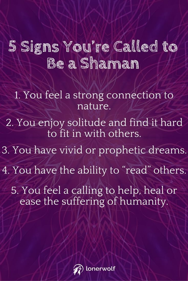 11 signs youre called to be a shaman spiritual healer