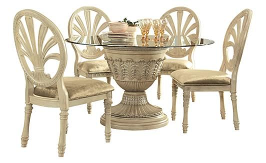 Ashley Furniture Glass Dining Sets ortanique dining table -by ashley furniture- | old world | pinterest
