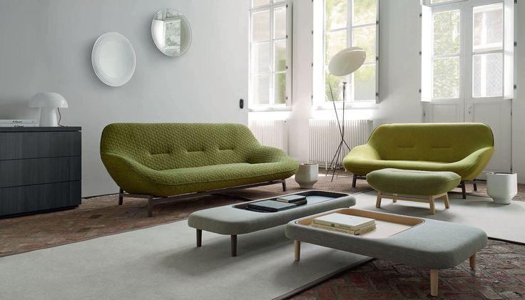 ligne roset ploum sofa green - Google Search