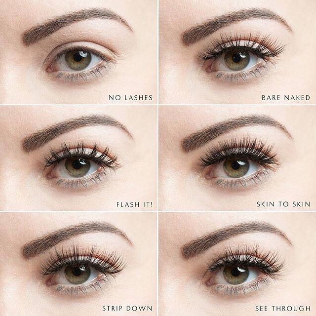 Which one is your favourite? Velour Lashes See Through Collection. The most natural falsies on the market!