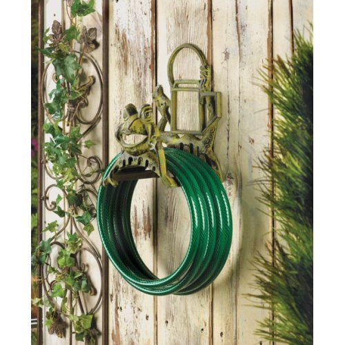 Cast Iron Frog Garden Hose Holder Availability: 39 in stock Manufacturer: Home Locomotion SBEX10015517 $38.75