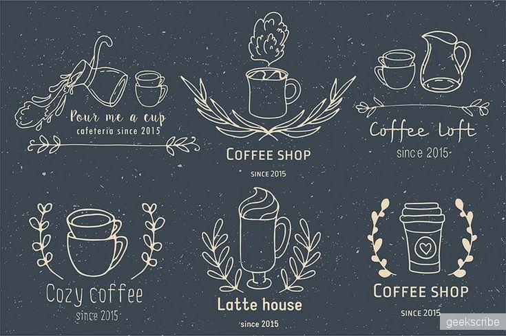 Собери свой логотип для кофейни / Разное / Yagiro - сайт о дизайне и для дизайнеров