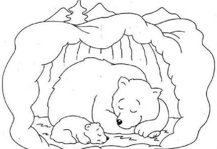 Bear Snores Coloring Pages Bear Coloring Pages Animal Coloring