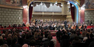 LIVE VIDEO Bucharest Symphonic Pops Orchestra, în Piaţa Festivalui, de la ora 19.30