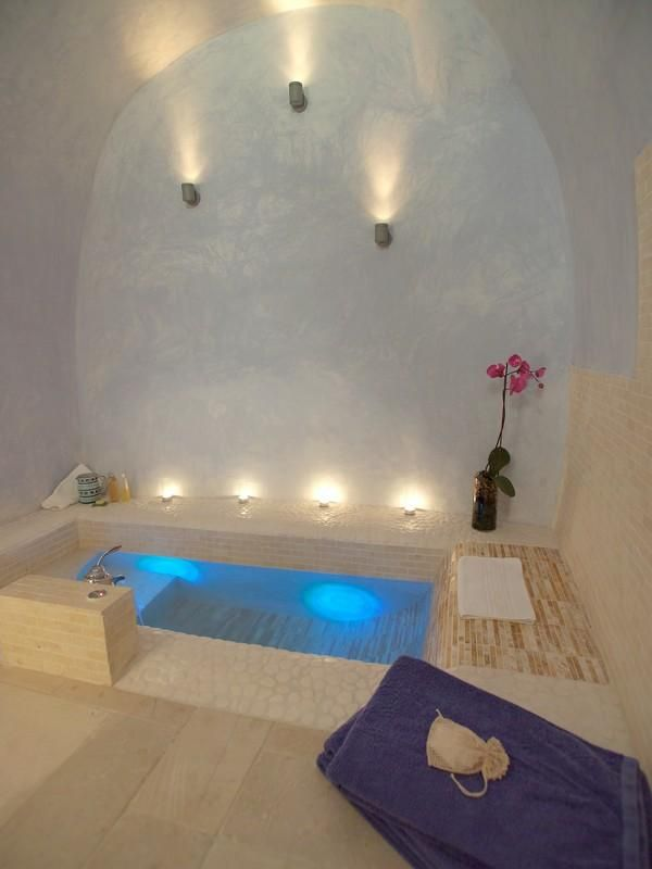 this bath tub w/ a walk in shower bathroom - like pin later that is all open bath
