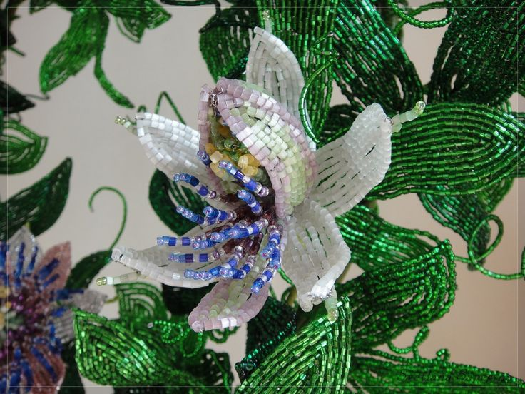 GALLERY - French beaded flowers and trees by Svetlana Sapegina