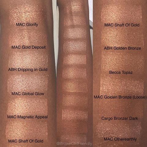 mac global glow on dark skin - Google Search