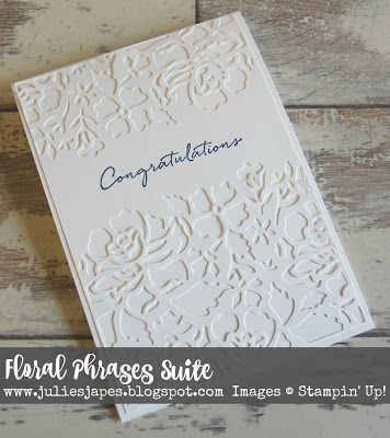 Julie Kettlewell - Stampin Up UK Independent Demonstrator - Order products 24/7: Floral Boutique Suite