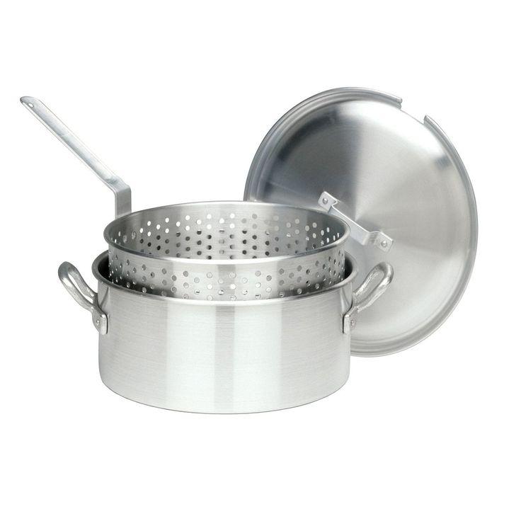 Bayou Classic 14-quart Aluminum (Silver) Deep Fryer