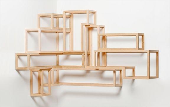 Box shelving - Derek Welsh