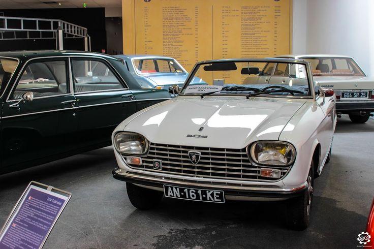 #Peugeot #204 #Cabriolet au Musée de l'Aventure #Peugeot Reportage complet…