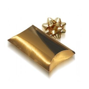 Mini caja sobre regalo dorado, mini cajita que resultara ideal para que tus detalles sean perfectos. #diy