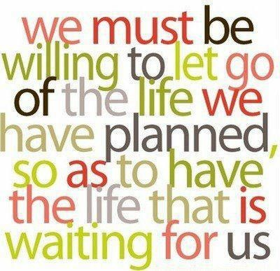 It's challenging to let go, but sometimes we need to let go of good so we can reach something even better!  For more inspiration visit http://www.facebook.com/BlessedInspirationGod Plans, Remember This, Life Lessons, The Plans, So True, Joseph Campbell, Inspiration Quotes, Lets Go, True Stories