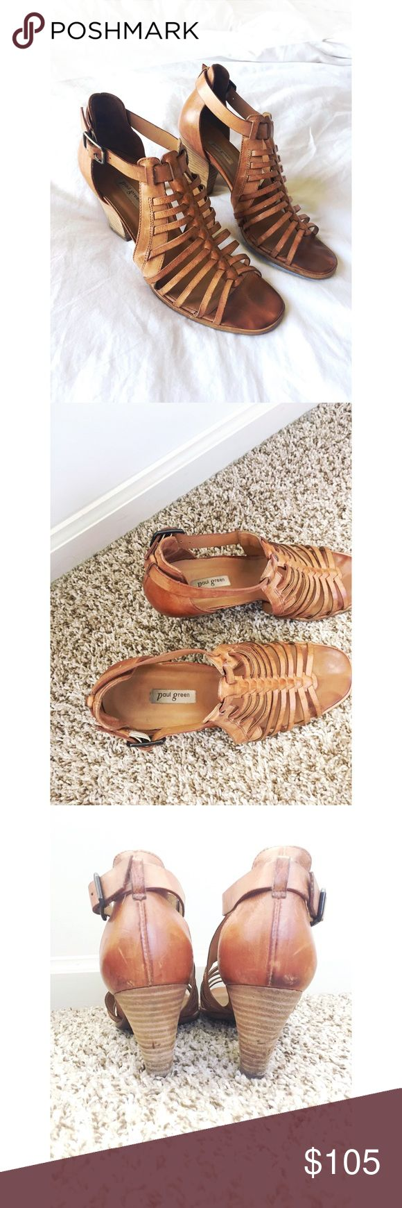 Paul Green Christy Sandals Size 9 Brown Paul Green sandals in good condition! Perfect go to sandals that match everything. Comfortable and stylish. Paul Green Shoes Sandals