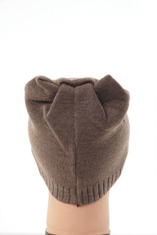 Шапка В0265 Цвет: кофейный Цена: 270 руб.  http://optom24.ru/shapka-v0265/  #одежда #женщинам #шапки #оптом24